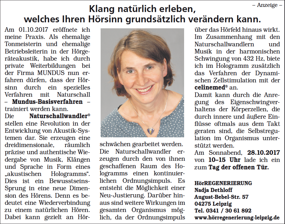 Artikel In Der Sachsen Sonntag Vom 22.10.2017